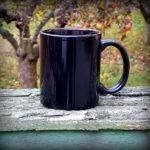 keramický hrnek - tmavěmodrý