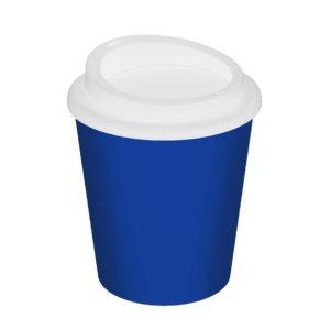 plastový termohrnek modrý